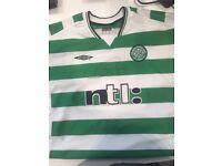 Signed 2001/03 Celtic shirt