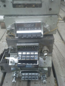 Old Vintage car radio's