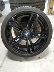 """Set of 19"""" BMW RIMS AND WINTER TIRES"""