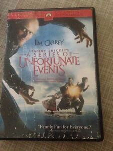 Series of unfortunate events DVD