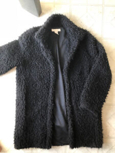 Sherpa Black Coat from H&M