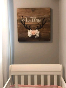 Personalized Nursery Signs