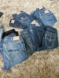 Sz.10-14 Abercrombie, Gap, Tractor, Old Navy Jeans