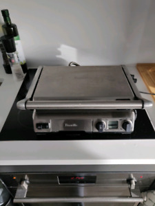 Breville counter top grill
