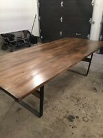 Gorgeous Harvest Table with 2 benches