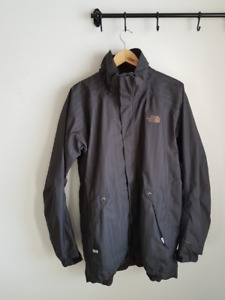 The North Face Ski / Board Jacket X-Large Brown Pinstripe Mint C