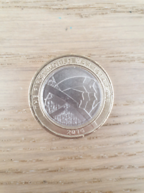 The First World War £2 Coin