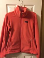 Patagonia fleece coat