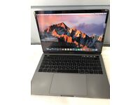 "MacBook Pro 2016 13"" touch bar 2.9GHZ/corei5/8GB/256SSD with Apple warranty"