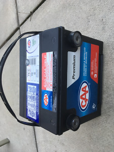 Car Battery used only one month. 3 yr Warranty. Only $125!