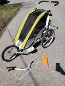 Jogging and Biking Stroller: Chariot Cougar 1 - Great Condition