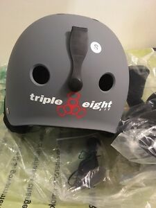 Triple Eight Audio Helmet Size Small-Built in speakers