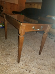 Antique solid wood coffee tables