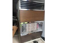 Calor gas heater with gas