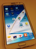 Samsung Galaxy Note II - Cracked screen best offer