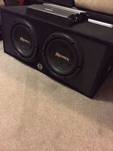 ^^** PIONEER PREMIER SUBS IN BOX WITH CLARION AMP!!