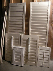 Shutters for sale, new
