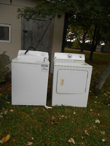Washer & Dryer 2 1/2 years old