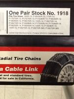 "Tire Chains for 13"" - 15"""