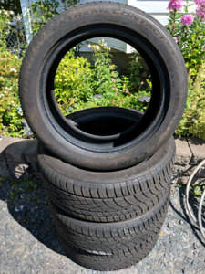 4 Continental Extreme Contact DWS 06 Tires
