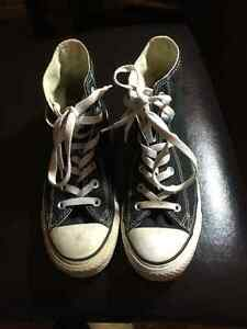 Black Converse All-Star Chuck Taylor Hi-Top Basketball Shoes Prince George British Columbia image 4