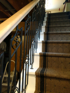 12 wrought iron stair railings for sale