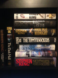 Stephen King Books 1st Editions HC DJ