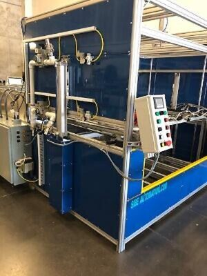 Sibe Automation Vacuum Former 48 X 60 Dual Heater Dual Platen