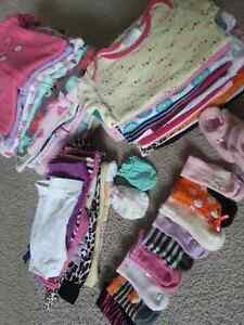 Lot Babygirl clothes 0-3 month