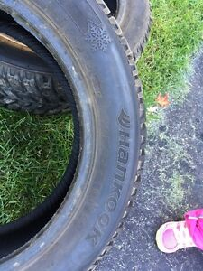 2x  Hankook Winter Tires London Ontario image 2