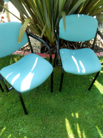 PAIR OF RECEPTION CHAIRS
