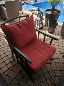 Chair cushions for 6 outdoor chairs