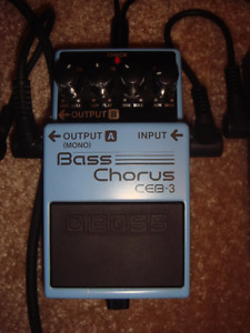 CE3-B Boss Bass Chorus Pedal - works for guitar too! $50 obo