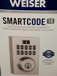 Weiser electronic digital  keypad deadbolt