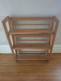 Small open shelves bookcase
