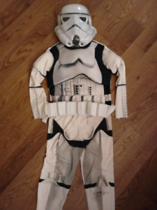 Storm trooper custome size 10/12