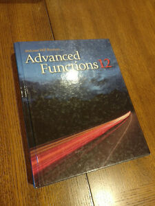 Advanced functions 12 McGraw Hill Ryerson