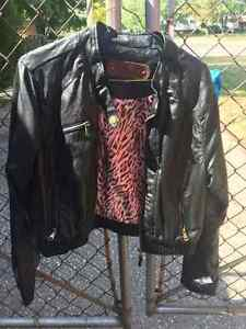 Ci Sono by Cavalini -Faux Leather Motorcycle Jacket Windsor Region Ontario image 1