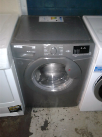 SILVER HOOVER 9KG WASHING MACHINE