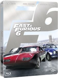 BLU-RAY! FAST AND THE FURIOUS 6 STEELBOOK