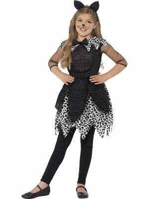 Mädchen Mitternacht Katze Kostüm Halloween Kinder Kitty Kostüm Outfit