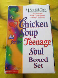 Bookset chicken soup for the soul set of 3