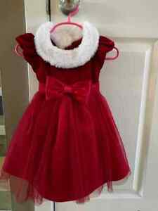 Adorable Christmas dress size 24 months