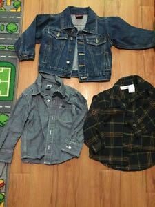 Fall shirts and jean jacket