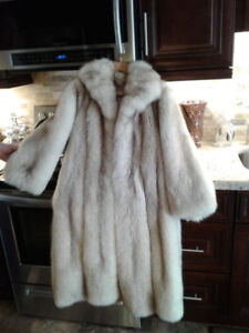 FUR COATS! Like New!! Genuine Silver Fox and Mink!!!