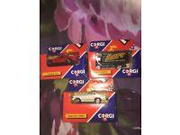 Corgi toys in boxs 1990