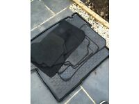Bmw 3 series winter and summer mats and boot liner
