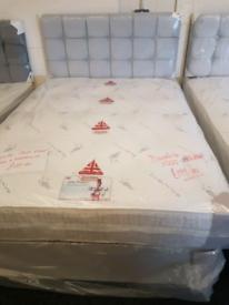 Single,4ft,double plush velvet beds