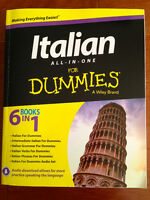 Italian All-In-One for Dummies- Brand New