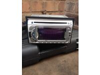 Kenwood cd/md double din stereo